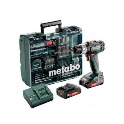 METABO BOORMACHINE BS 18 L SET 2x2AH